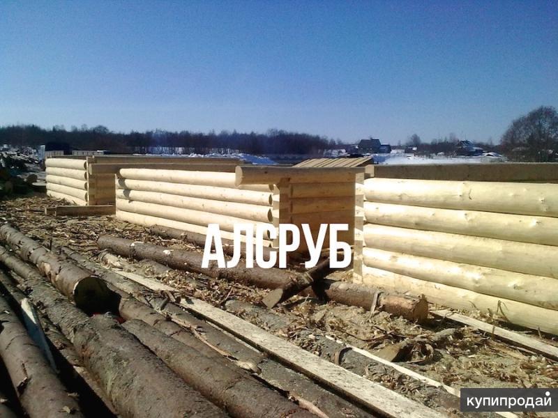 Деревянные срубы от Псковских рубщиков