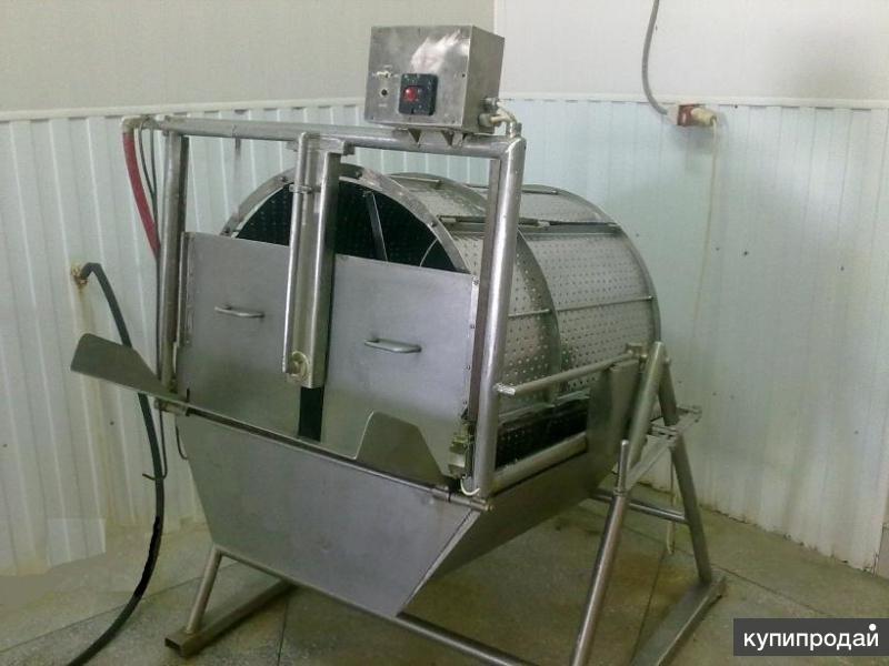 Машина для снятия чешуи