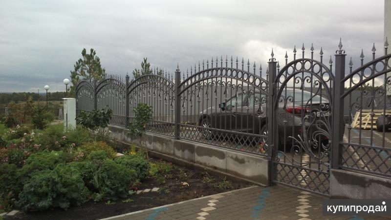 Кованый забор на заказ