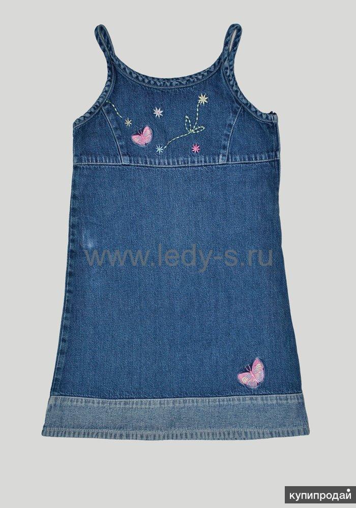 5096c418c6c Джинсовые сарафаны и платья детские Якутск