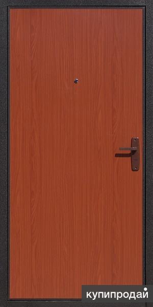 Дверь строительная медь/мдф 1 замок. Только оптом.