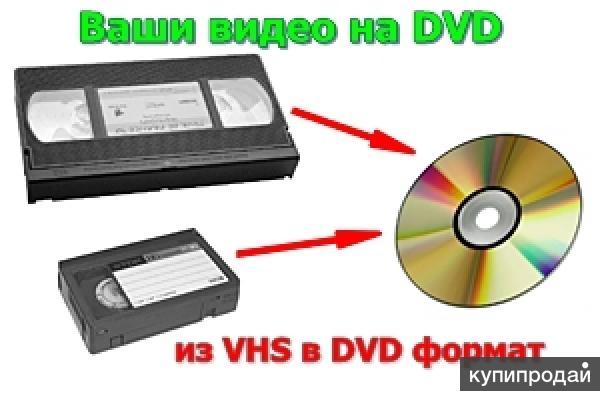 г Николаев оцифровка видеокассет