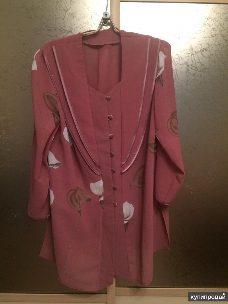 Кардиган женский бледно розовый