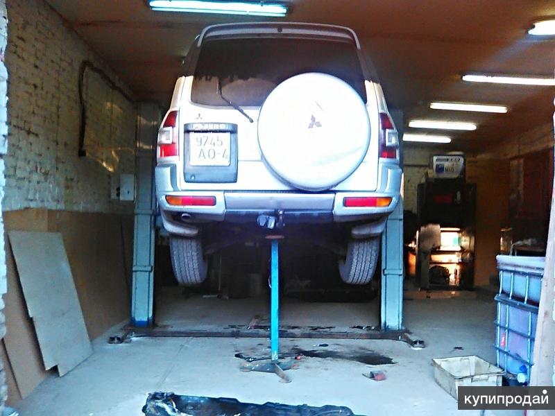 срочный ремонт топливного бака джип Мицубиси Паджеро
