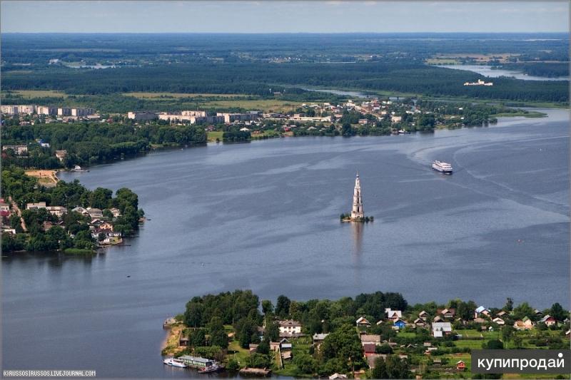 Операции с недвижимостью на Волге в гор. Калязине Тверской области