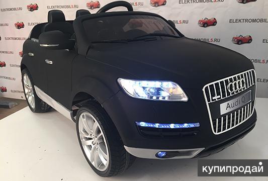 Продаем детский электромобиль ауди Q7,  модель 2016 года. Его характеристики та