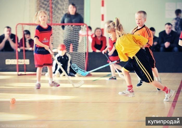 Набор детей 2004-2008 г.р. в спортивную секцию флорбола