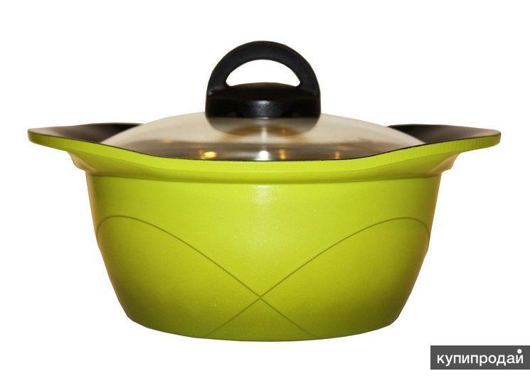 Кастрюля Home chef с керамическим покрытием, 20 см