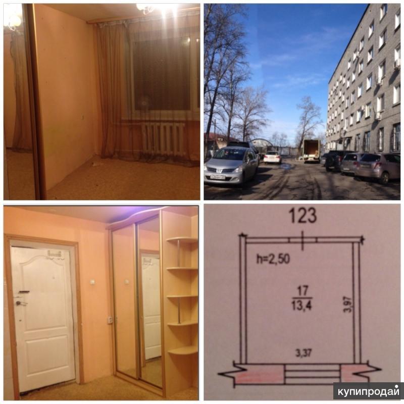 Комната в общежитии( секция)