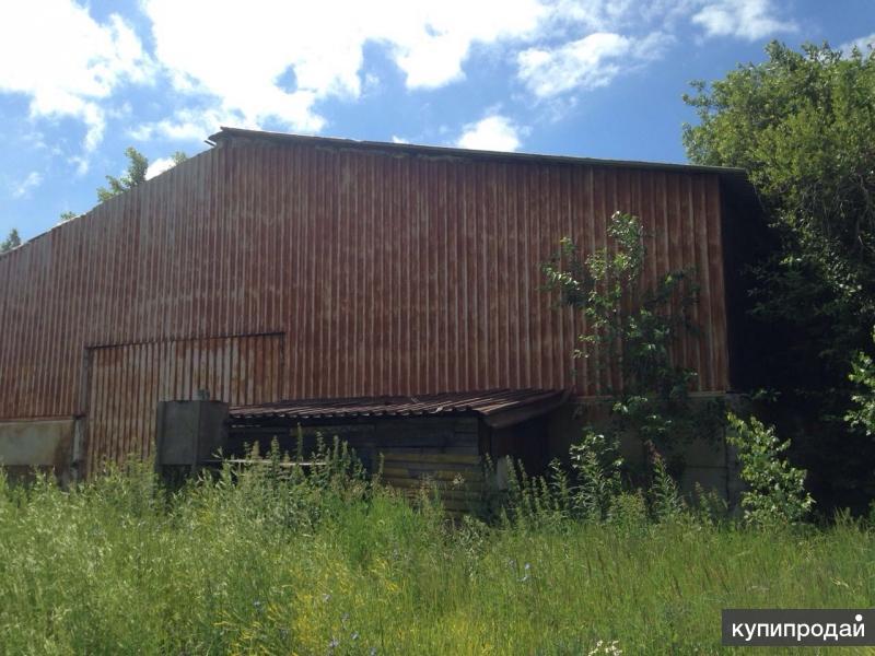 Продам склад в Лаишево 1500 кв.м.
