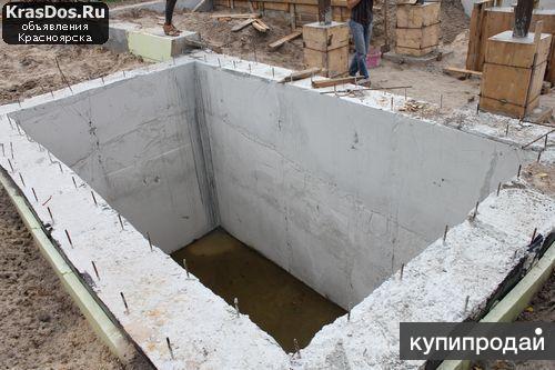 Погреб монолитный бетонный под ключ