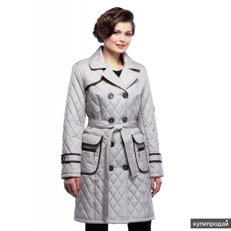 Плащи и пальто от производителя оптом