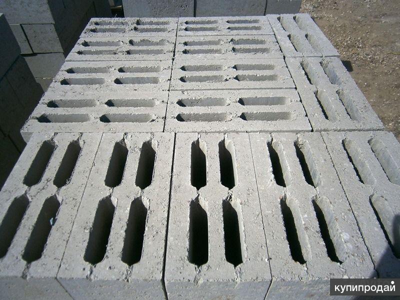 Цокольный Блок из тяжелого бетона