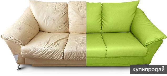 Реставрация мебели с помощью перетяжки на дому или в цеху