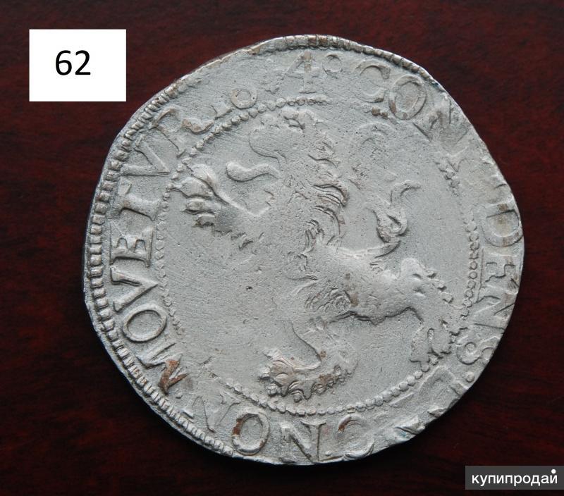 Левендаальдер 1648 год. Серебро