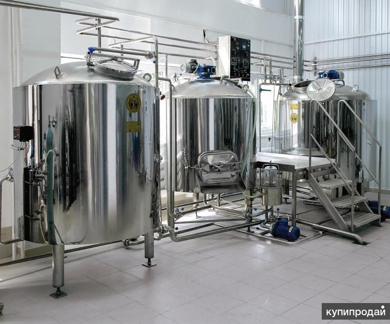Продам пивоварню по производству пива на 3 тонн/месяц