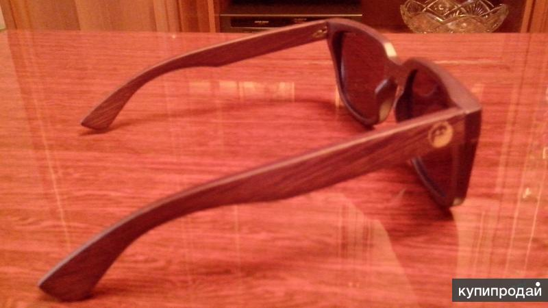 """Солнцезащитные очки """"PANDA"""" из бамбука"""