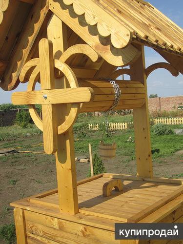 Изготавливаем деревянные колодцы