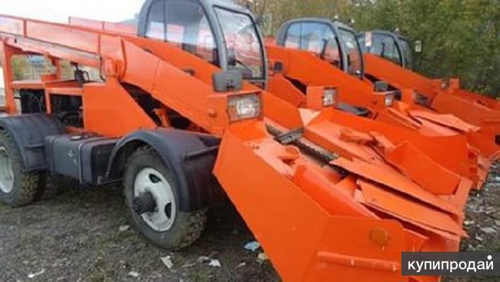 Лаповый снегопогрузчик КЗДМ-206 Кургандормаш