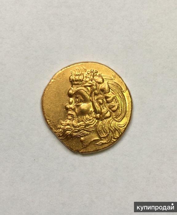Редкая монета Пантикопей, статер