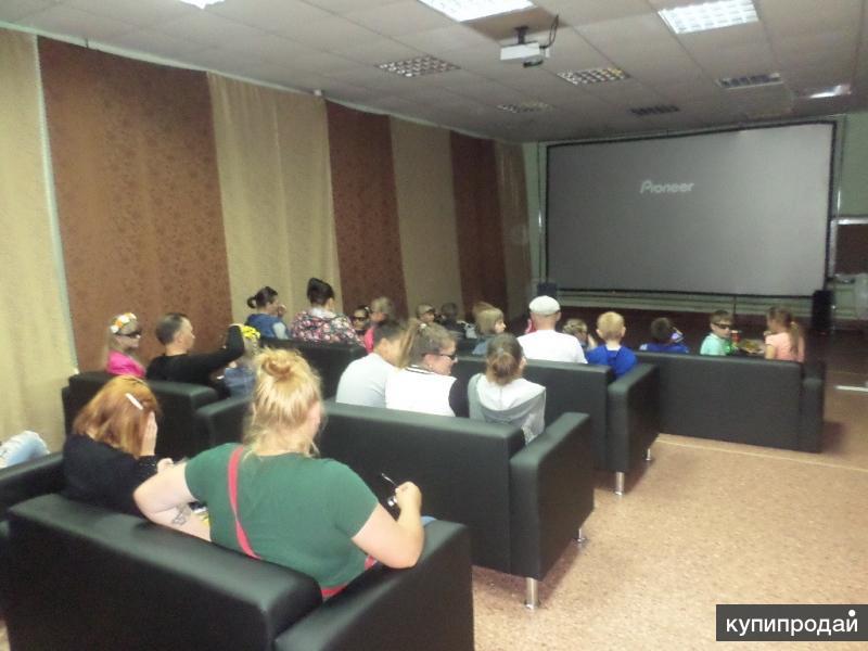 3D кинотеатр (мобильное, передвижное оборудование)