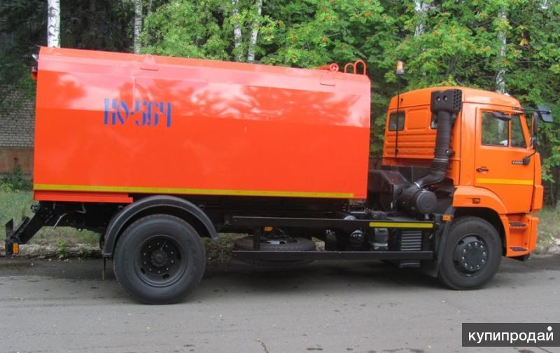 Каналопромывочная КО-564-20 на шасси КАМАЗ 43253-3010-28
