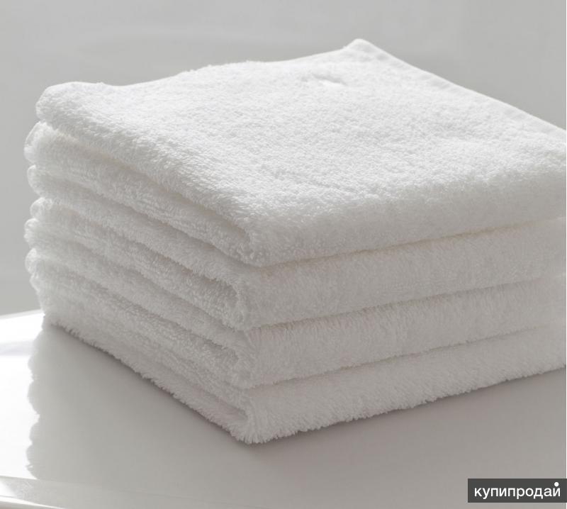 Полотенце махровое 50/100 белое