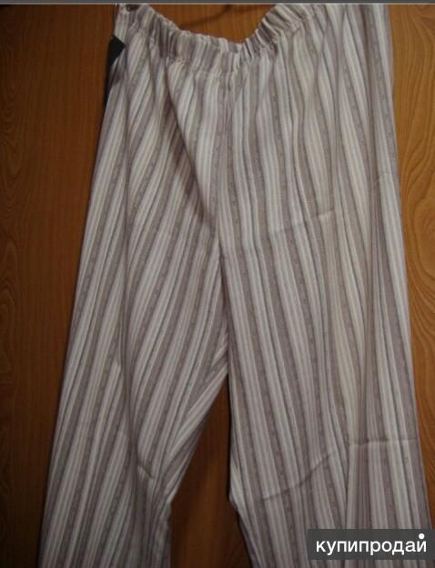 Новые элегантные  брюки, от дизайнера, хлопок с добавкой