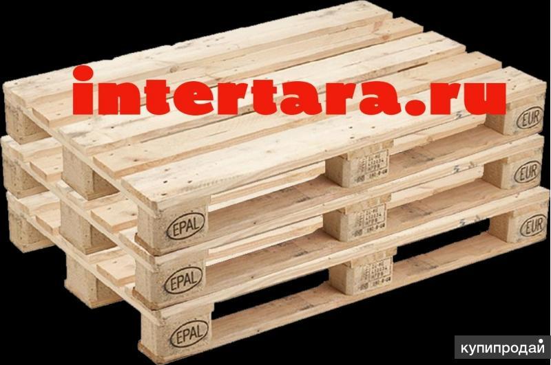 Европоддоны, деревянные поддоны бу - от 115 руб.
