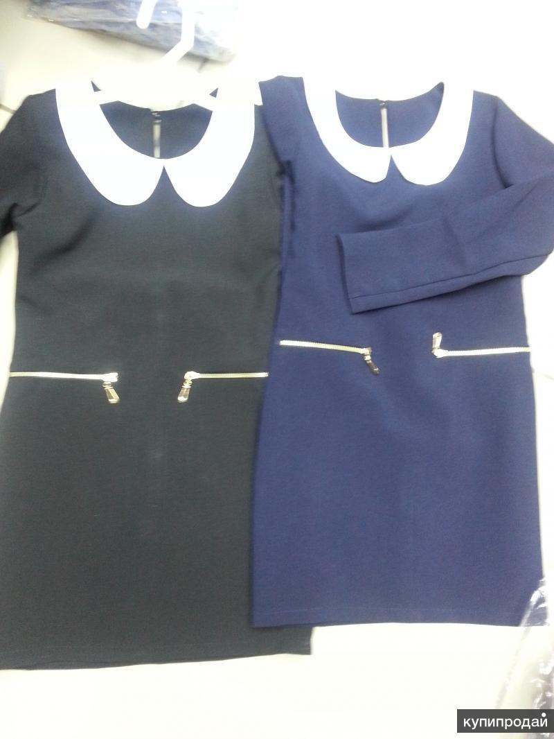 Школьные сарафаны синие черные серые бордо