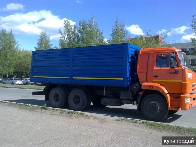 Зерновоз на шасси Камаз 65115 (Е-4)