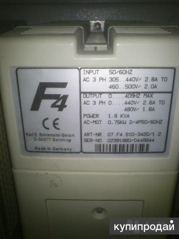 Преобразователь частоты KEB F4 -S