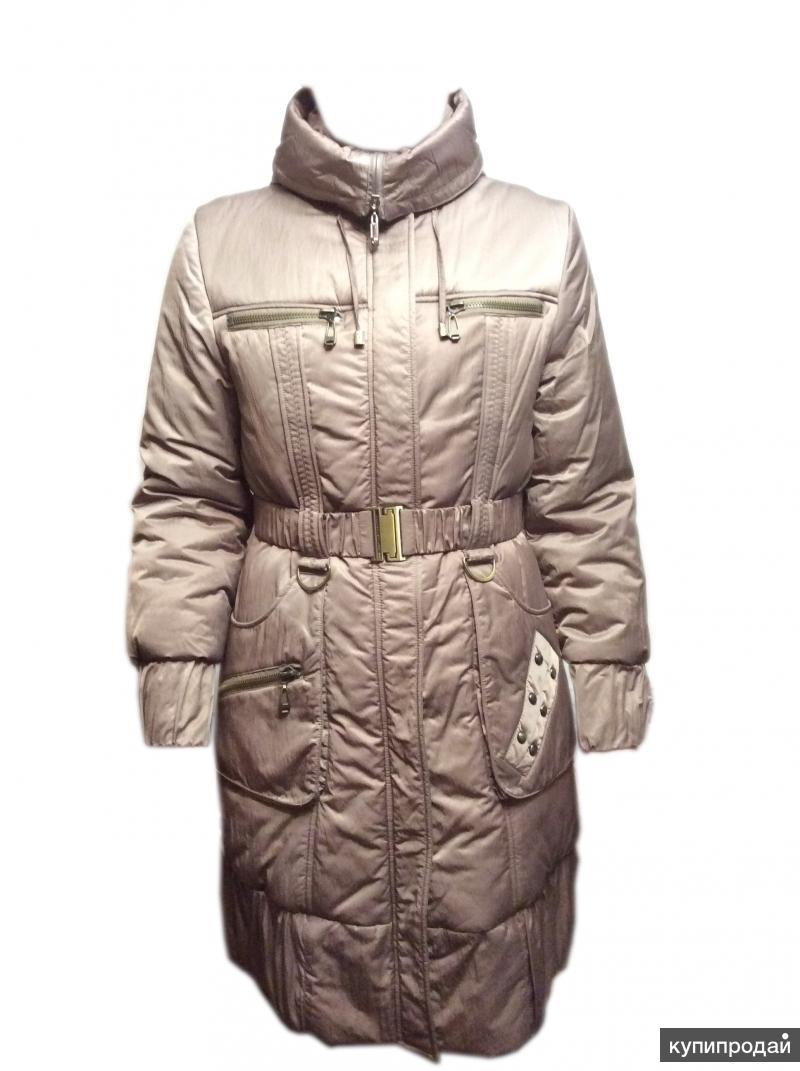 """Пальто """"FulanXin"""" зимнее для девушки/женщины р48. Новое"""
