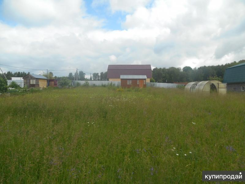 участок площадью 12 соток в непосредственной близости от поселка Оболенск
