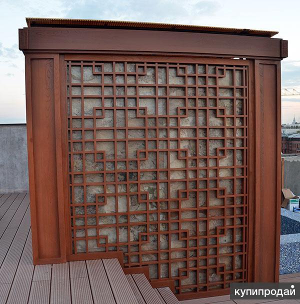 Стеновые панели и декоративные конструкции из массива