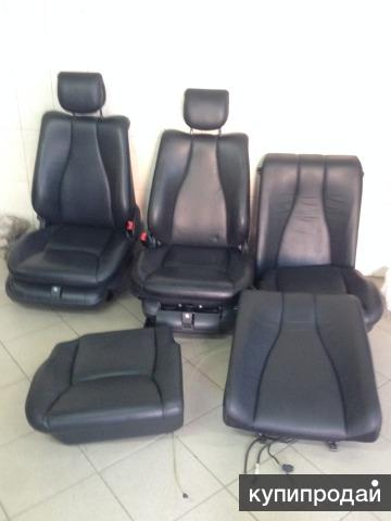 Продам сиденья от Мерседеса W220