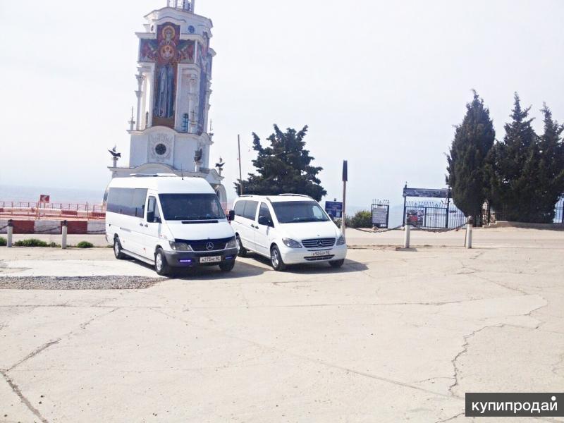 Комфортабельные пассажирские перевозки по Крыму.Заказ авто на свадьбу.Трансфер