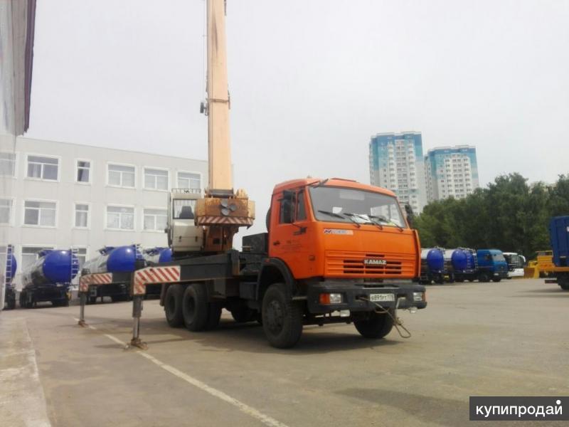 Автокран КС 45717К-1Р 25т., б/у