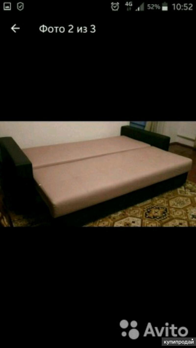 Срочно продаётся диван. Длина 2.30см. Раскладывается.