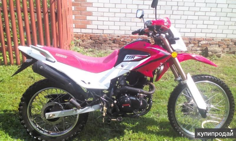 Мотоцикл ttr irbis 250