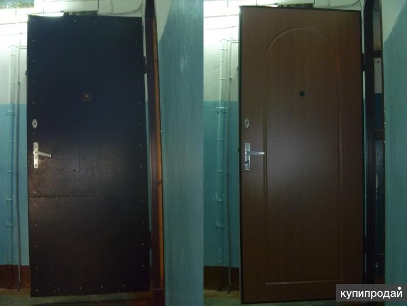 Ремонт металлических дверей/установка,замена,замков.