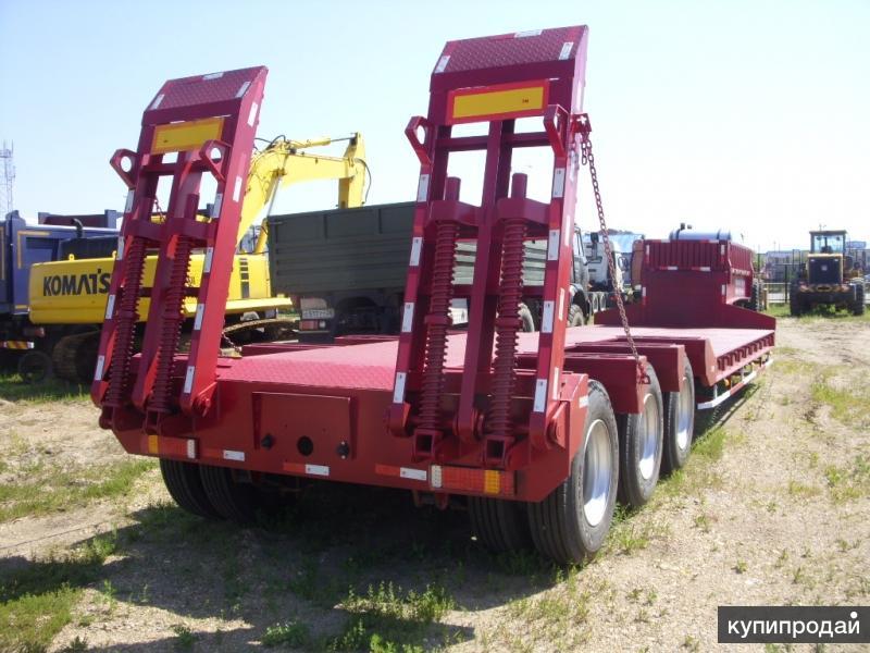 Трал низкорамный 3 оси 60 тонн новый