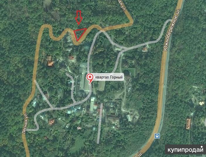 Продается земельный участок абсолютно ровный   10 сот ( госакт ) пос . Горный
