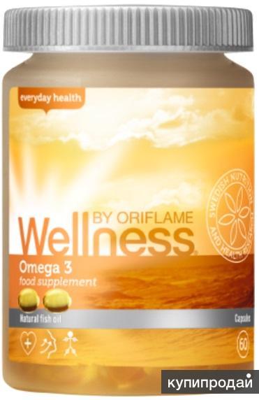 Комплекс Омега-3 Wellness