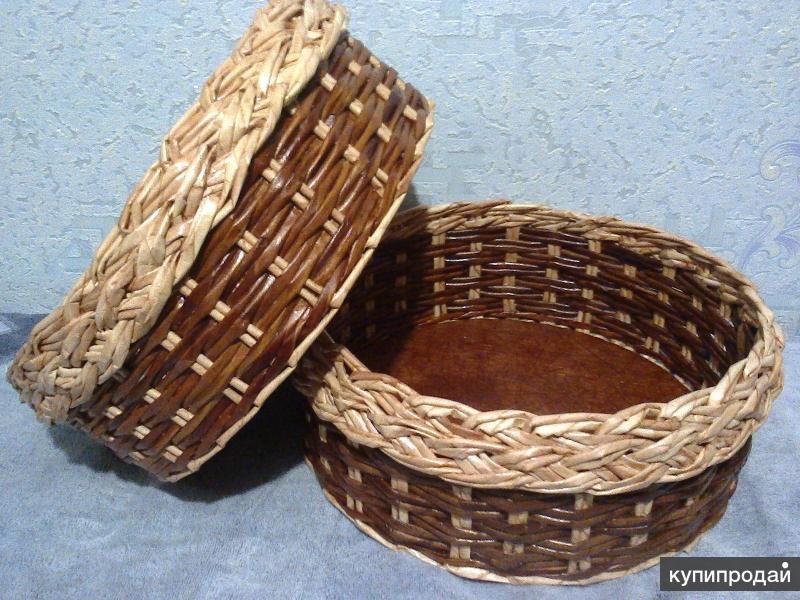Плетеные изделия ручной работы