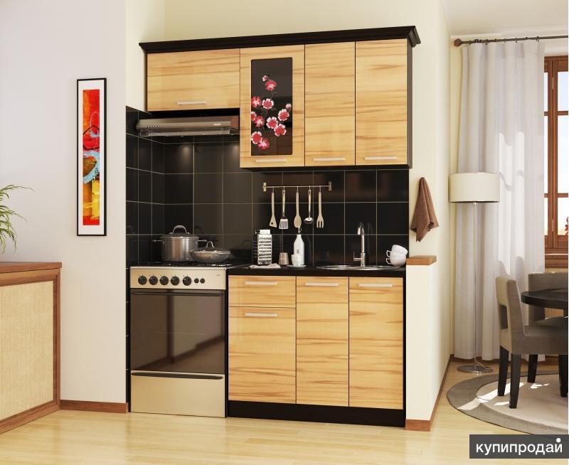 Кухонный гарнитур САКУРА-1, левый - правый