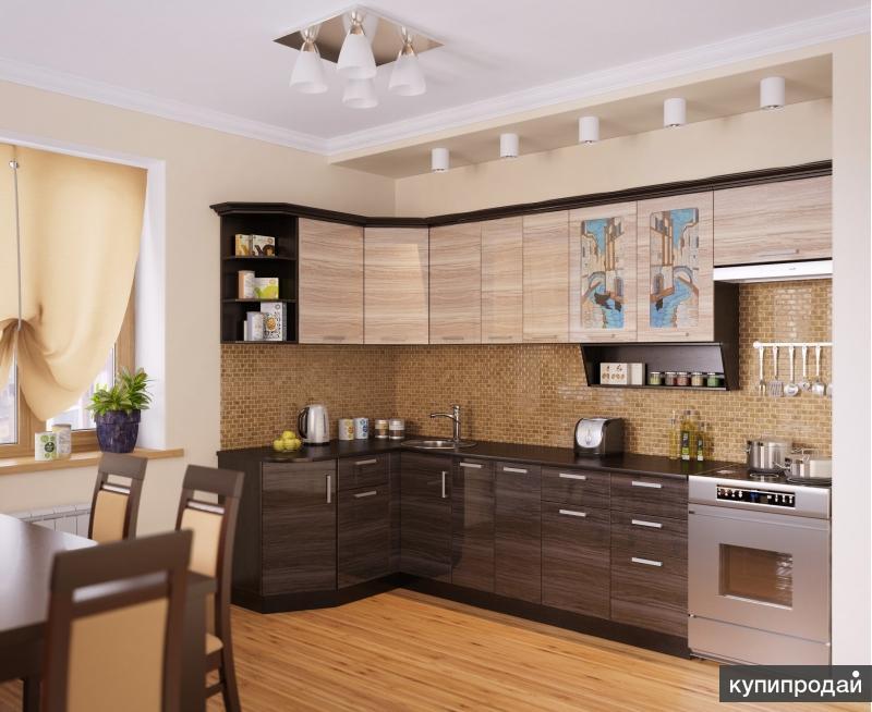 Кухня ВЕНЕЦИЯ-2 Угловая, правая - левая