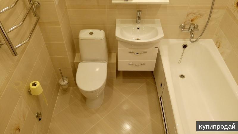 Ремонт и отделка квартир в Томске.Ремонт ванных комнат в Томске.Санузел под ключ
