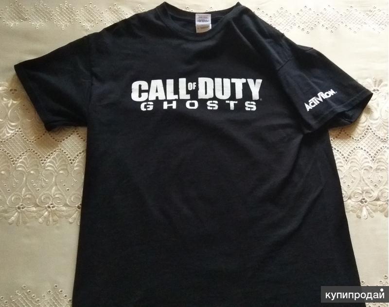 Две футболки Gildan Call Of Duty ghosts