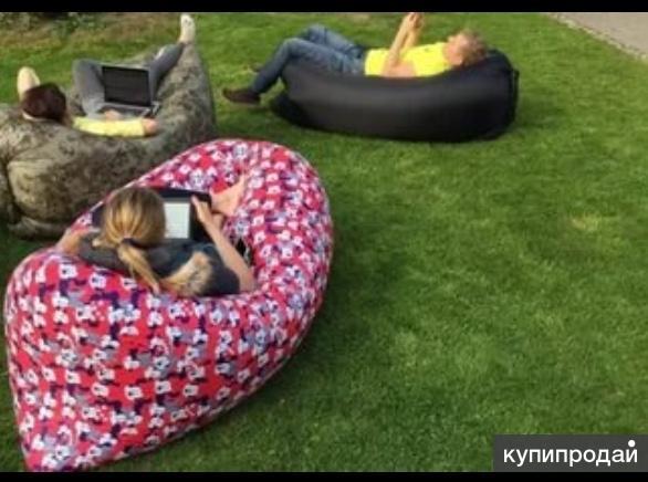 Ламзак (надувной диван, биван, матрас, лежак)